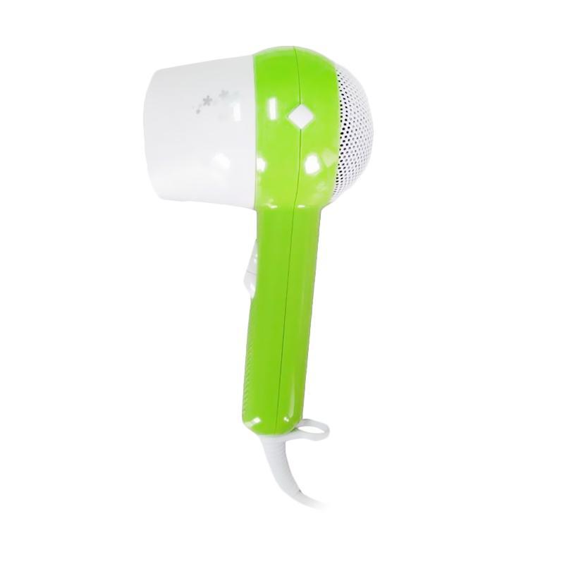 Heles HL-3501 Hair Dryer - Hijau