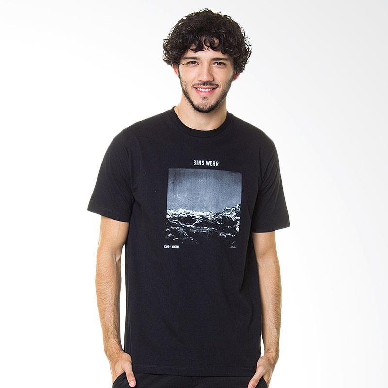 Sins Mountain T-Shirt Baju Atasan Pria - Black Extra diskon 7% setiap hari Extra diskon 5% setiap hari Citibank – lebih hemat 10%