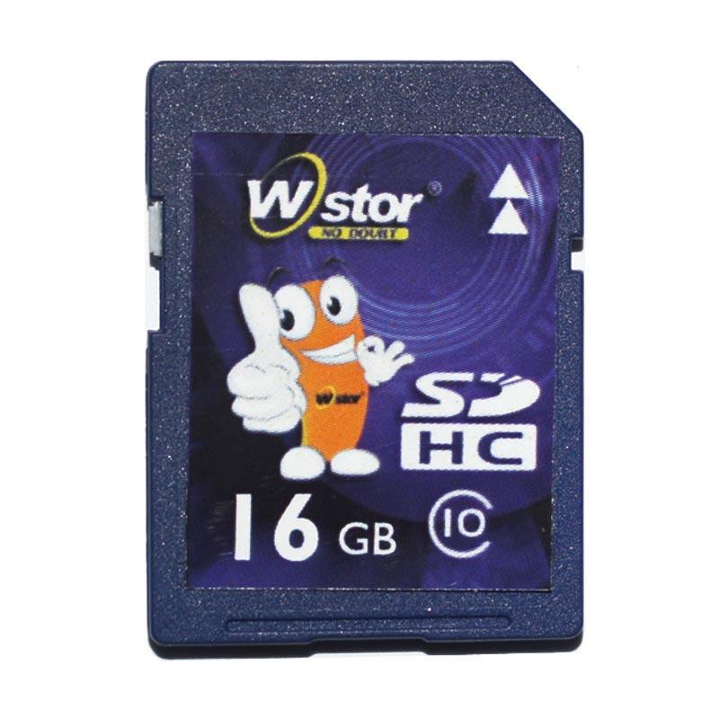 W-Stor Class 10 SDHC 16GB