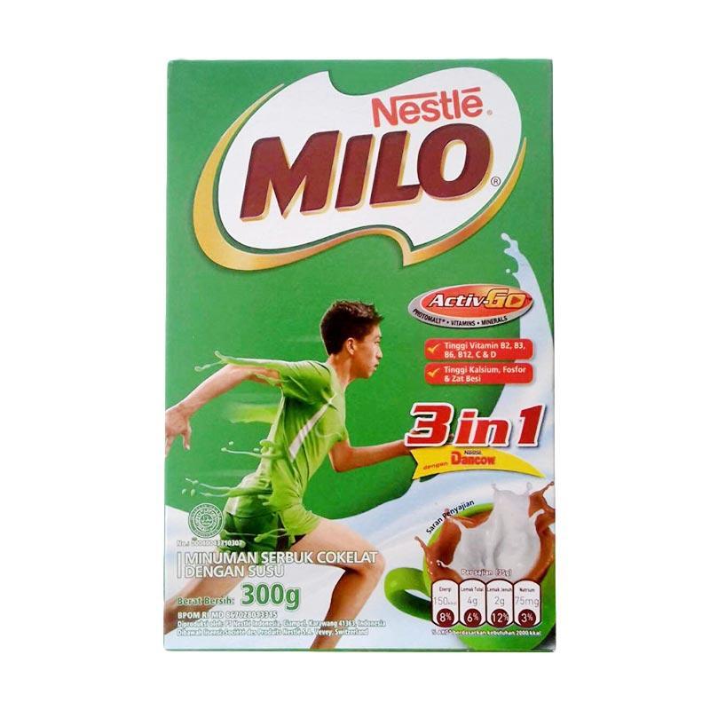 Milo Activ Go 3 in 1 Dancow [300 gr]