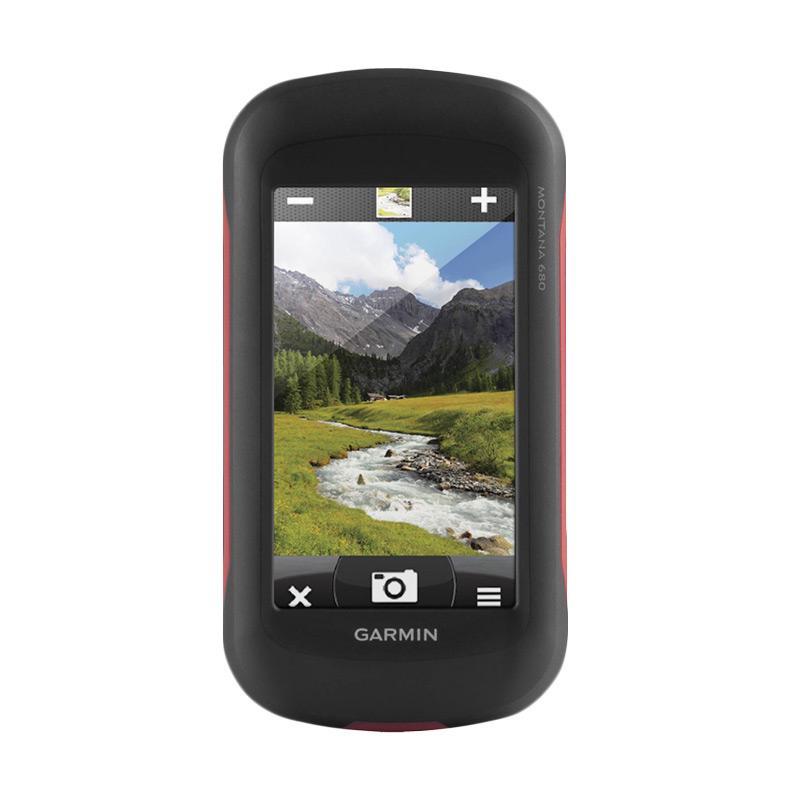 harga Garmin Montana 680 - Black/Red Blibli.com
