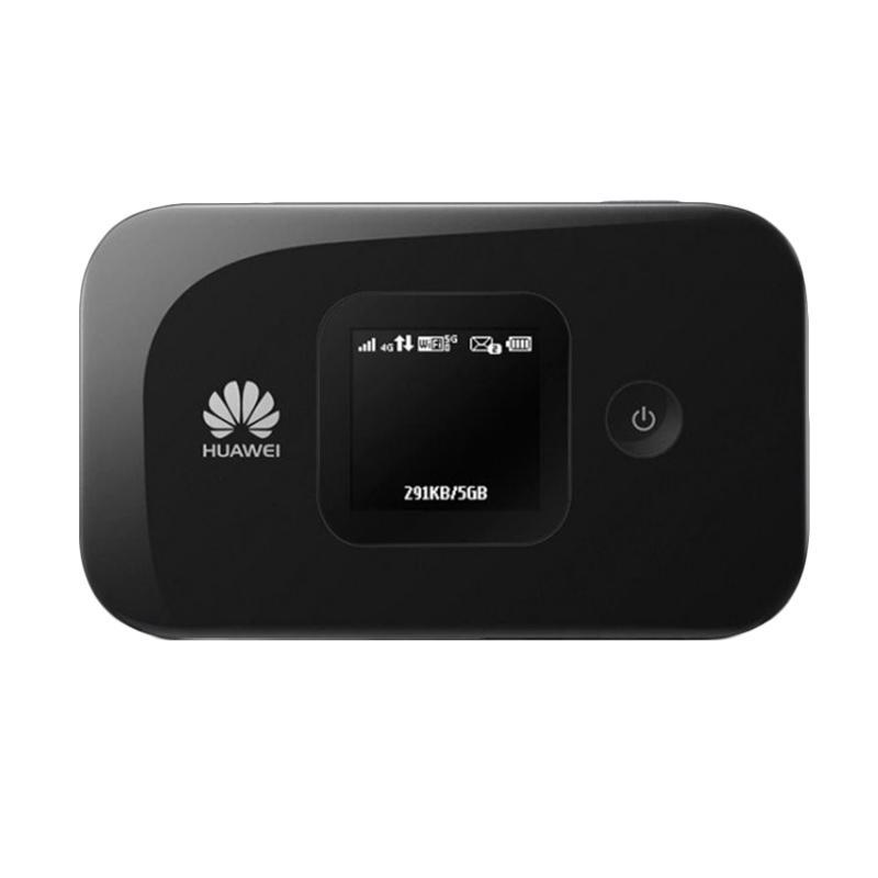 harga Huawei E5577 Modem Mifi - Black Free 14Gb di bulan pertama tanpa isi ulang Blibli.com