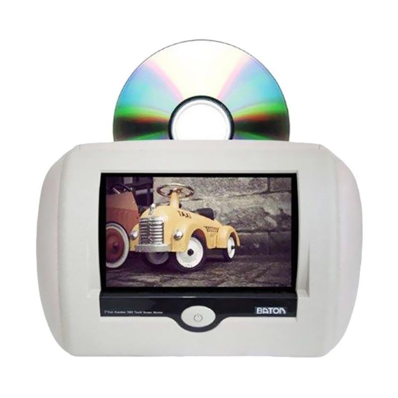 harga AVT Baton Koz DVD Headrest Monitor Beige Blibli.com