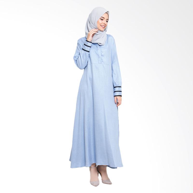 Allev Shafiya Dress - Biru