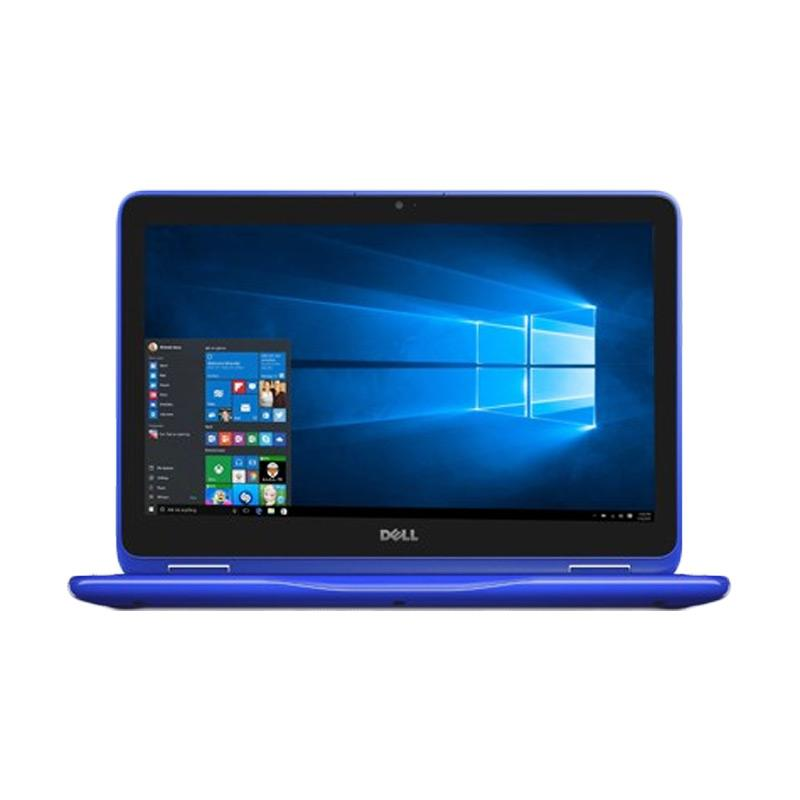 WEB_DELL INSPIRON 11 3168 Notebook - Blue [N3710/4 GB/500 GB/11.6