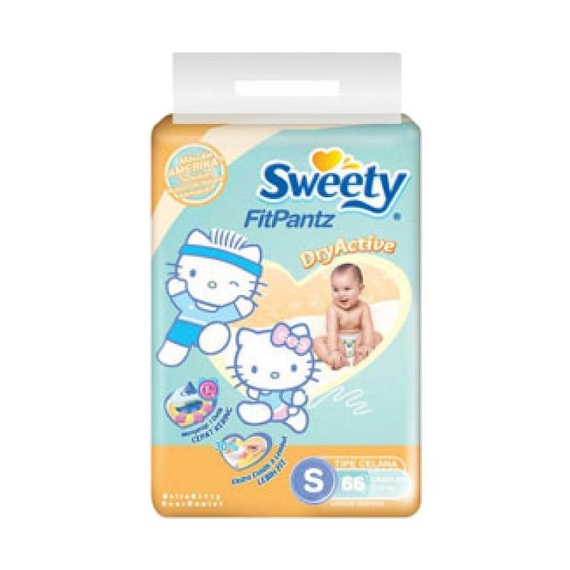 Sweety Fit Pantz Popok Bayi [Size S/66 pcs]