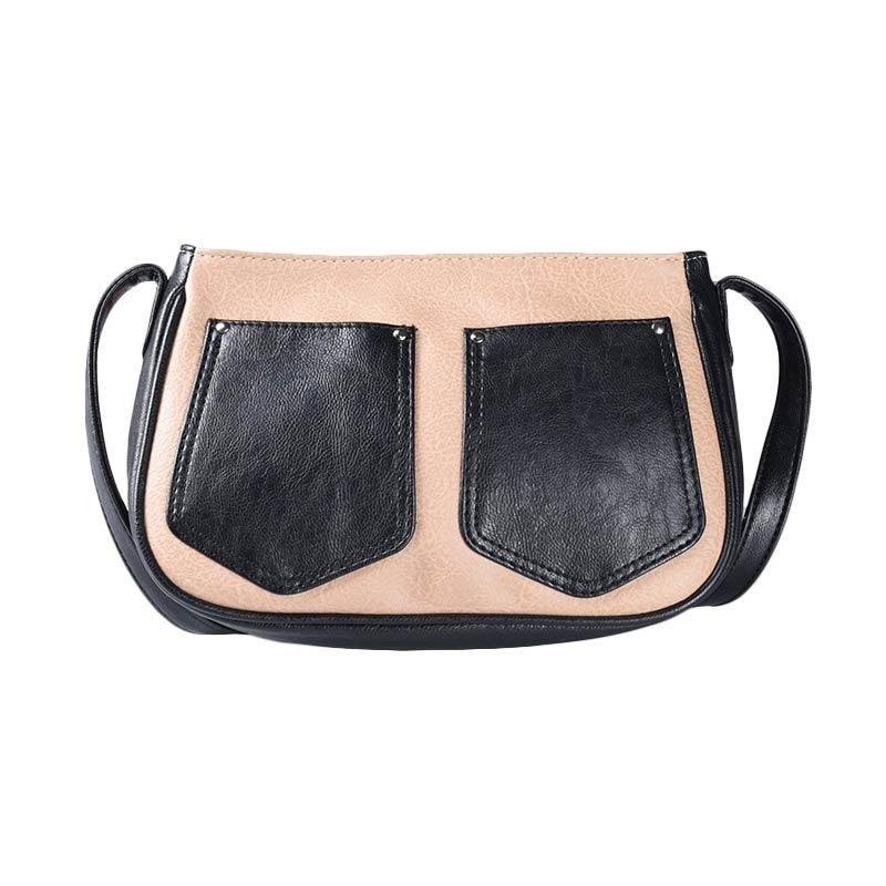 Alibi T0906B5 Delta Sling Bag - Beige