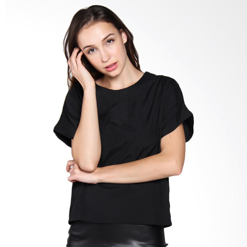 Carte Basic Tee Blouse - Black