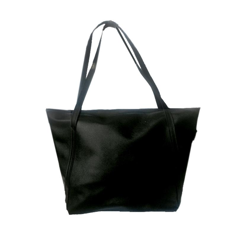 Donker Basic Tote Bag Black