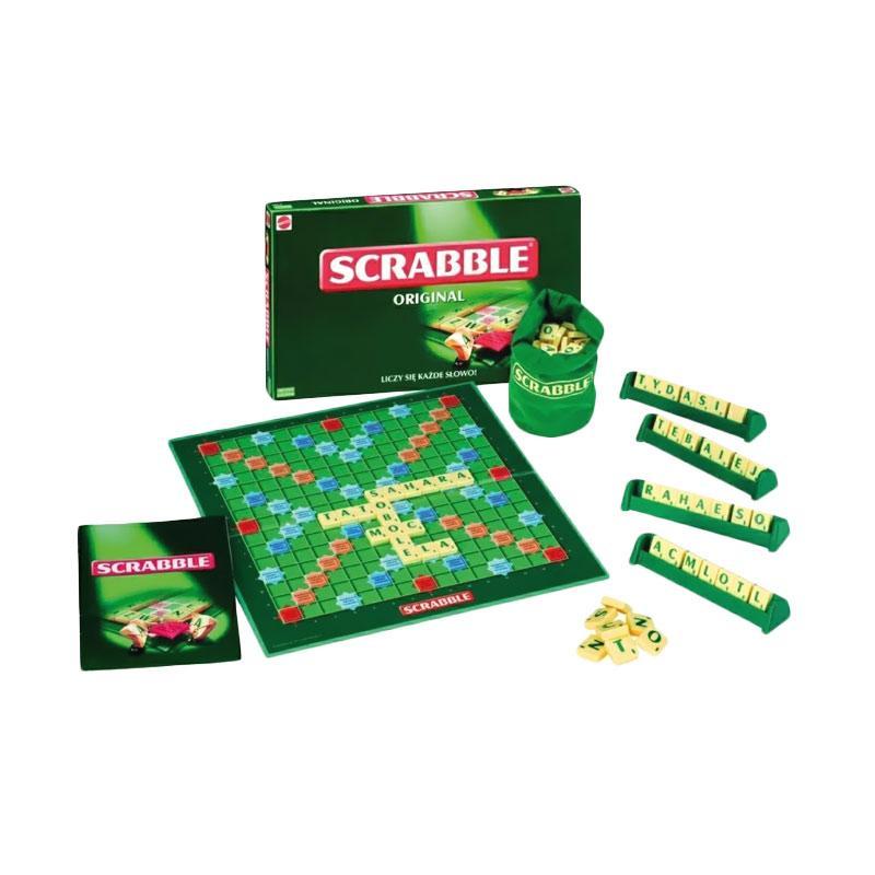 Scrabble Original Mainan Edukasi