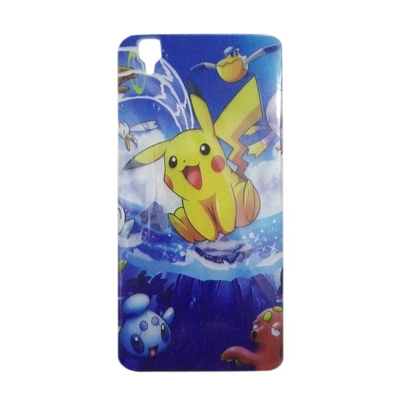 FDT TPU Pokemon 007 Casing for Oppo R7s