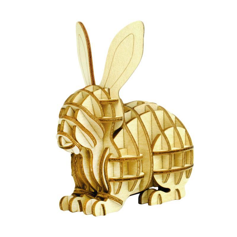Kigumi Rabbit 3D Puzzle