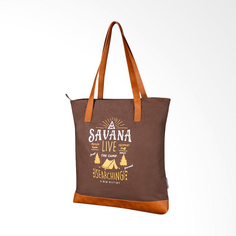 Savana Live Tote Bag - Khaki