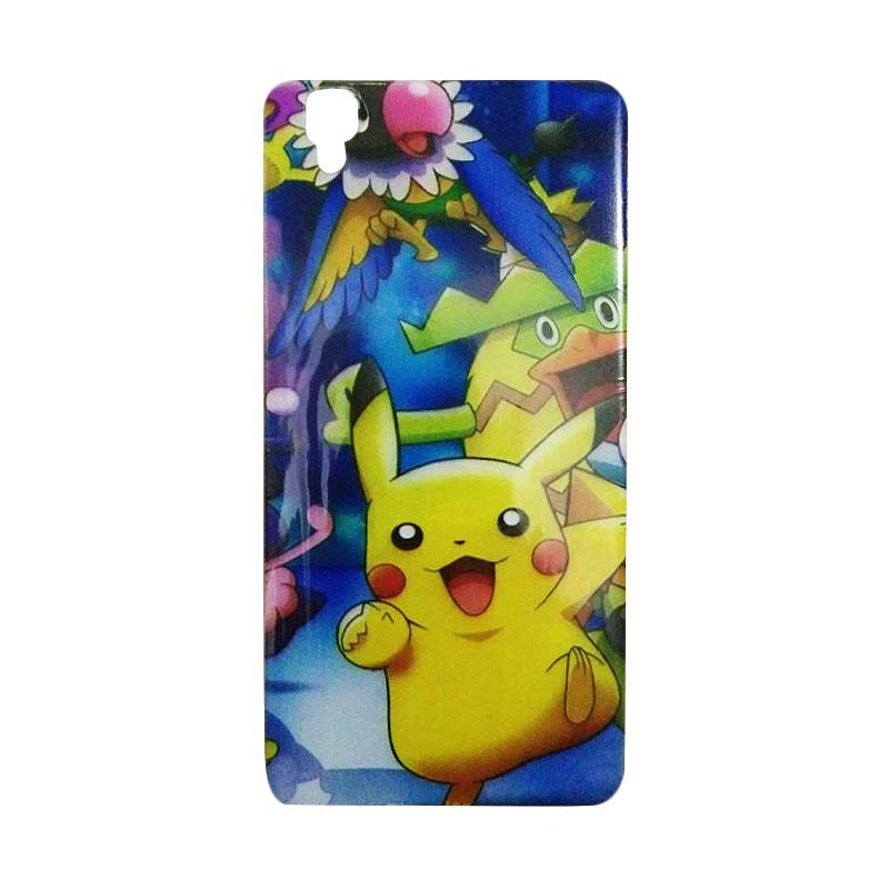 FDT TPU Pokemon 008 Casing for Oppo R7s