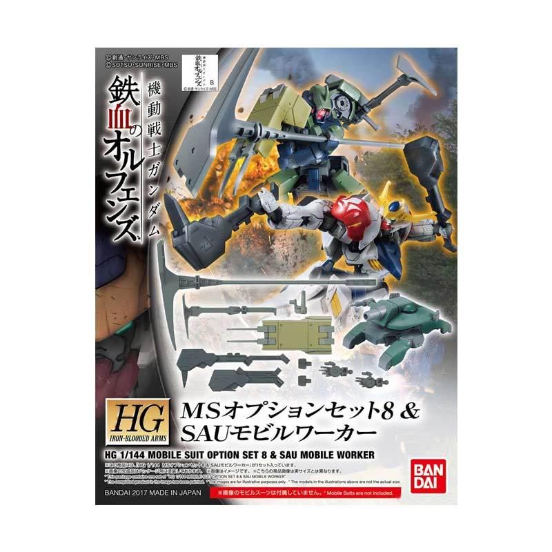 Bandai HG IBA MS Option Set 8 Gundam Model Kit [1 : 144]