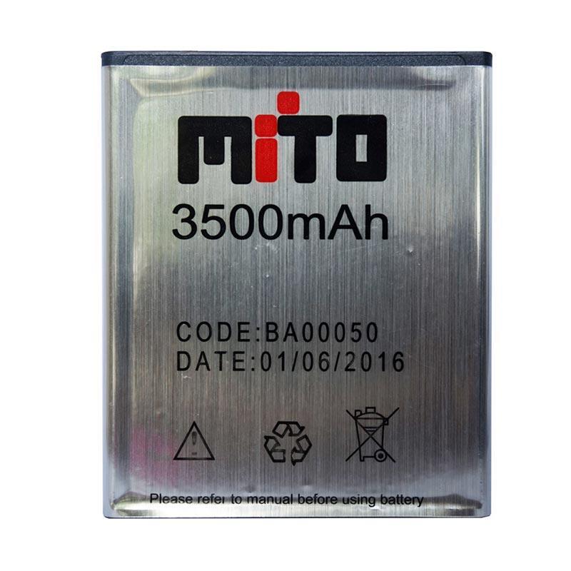 Mito BA00050 Battery for Mito A70 - Silver