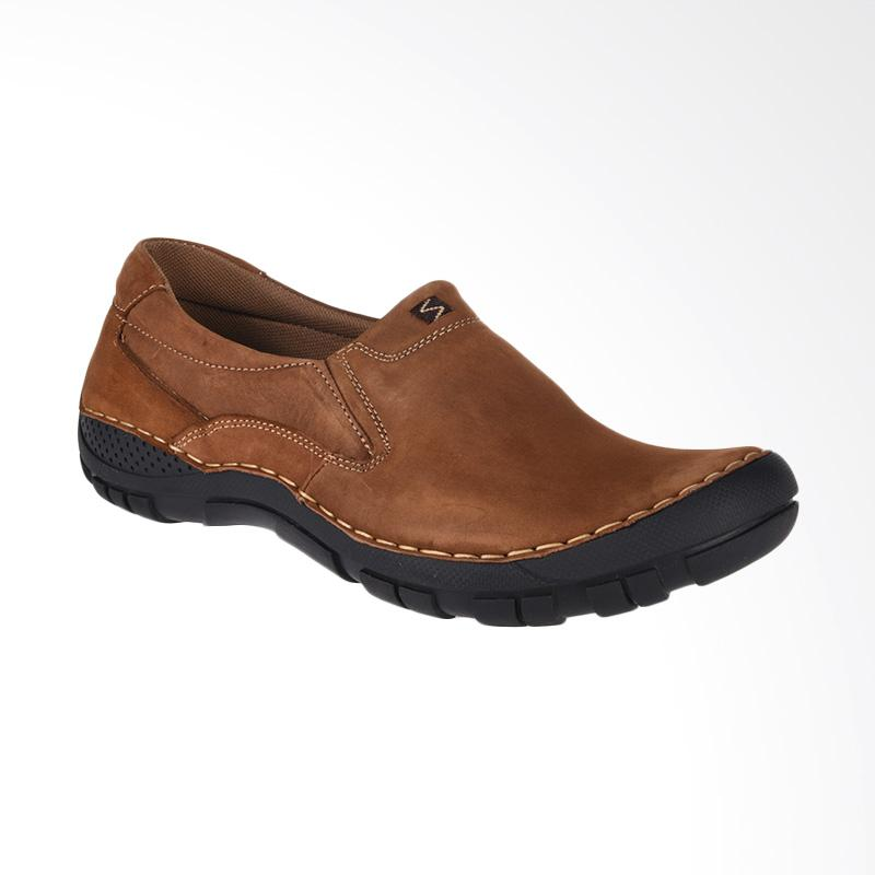 Jual Jim Joker Haper 72 Casual Shoes Sepatu Pria Brown Online