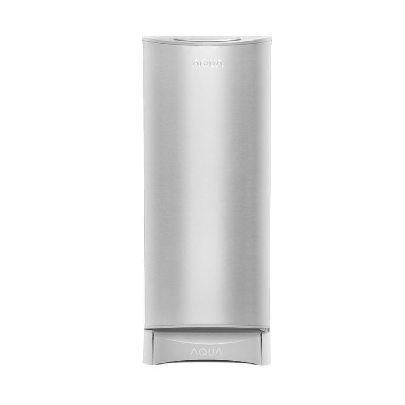 Aqua Kulkas 1 Pintu AQRD190S – Silver - Khusus Jadetabek