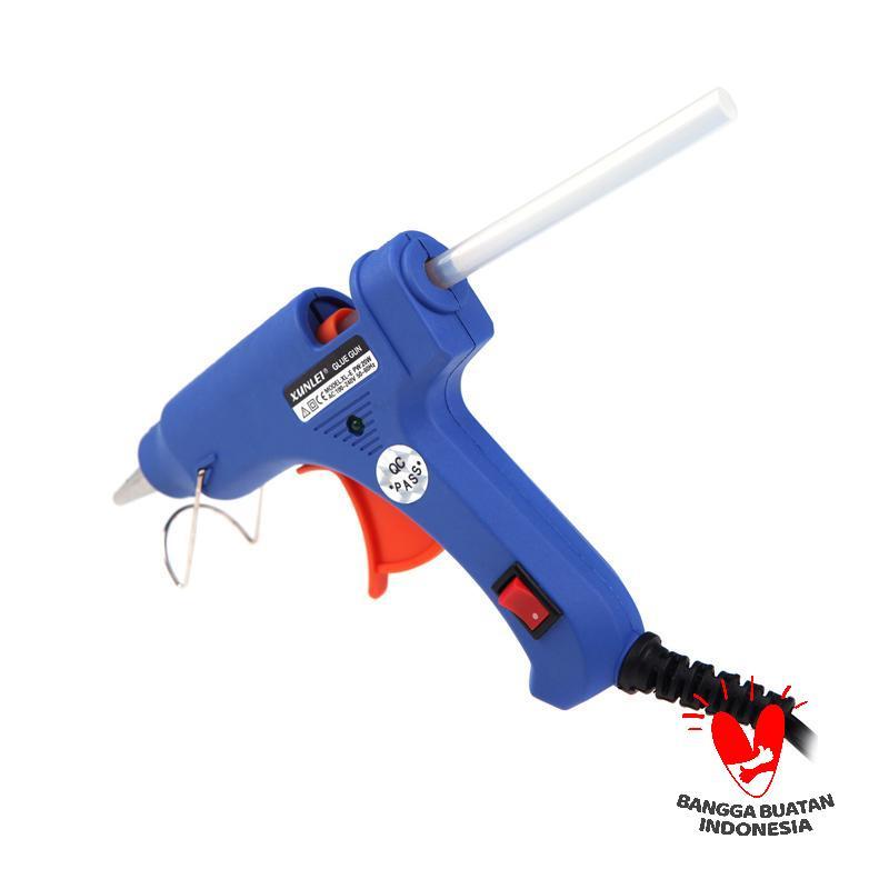 harga Universal Glue Gun Lem Tembak - Blue [20 Watt] Blibli.com