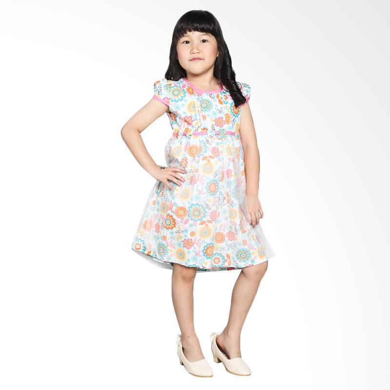 4 You Tile Dress Anak - Pink