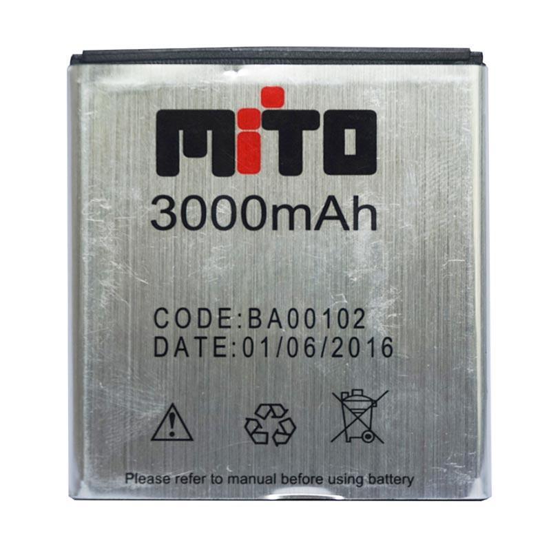 Mito BA00102 Battery for A660 - Silver