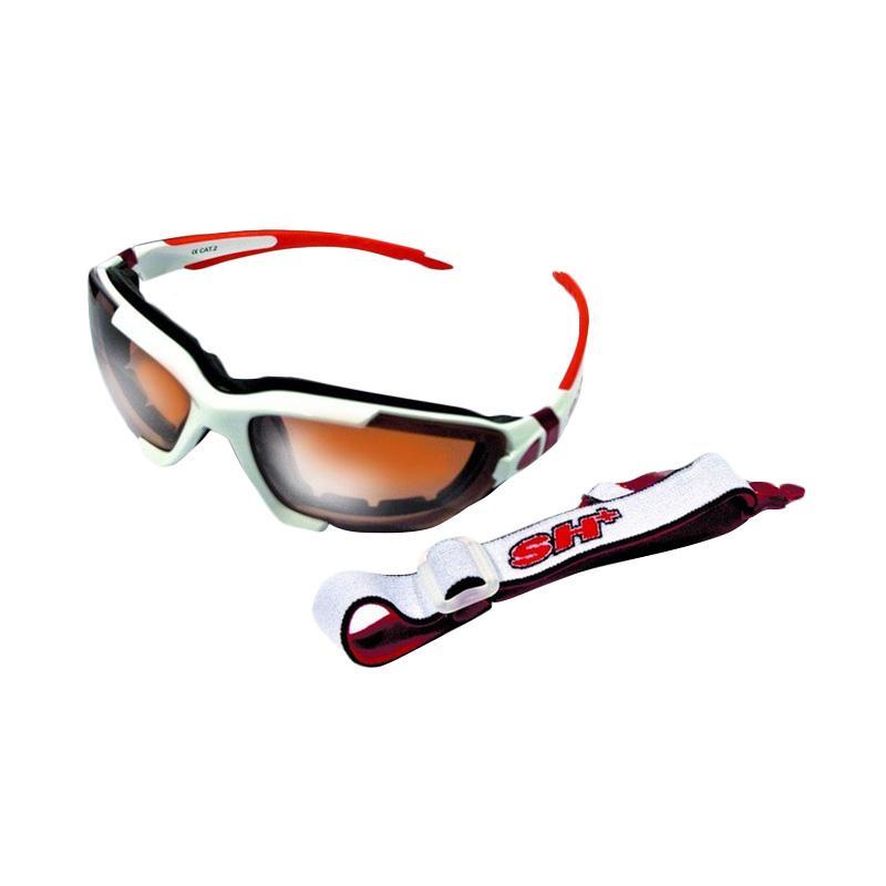 harga SH+ RG 4001 Kacamata Sepeda - Putih Merah Blibli.com