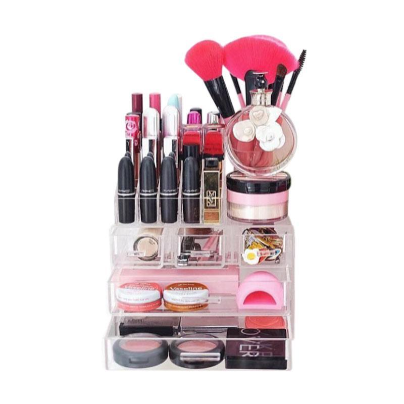 Acrylic E4 Tempat Makeup Clear
