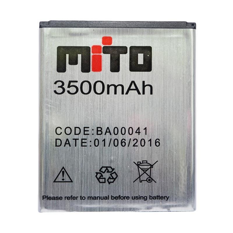 Mito BA00041 Battery for Mito A355 - Silver
