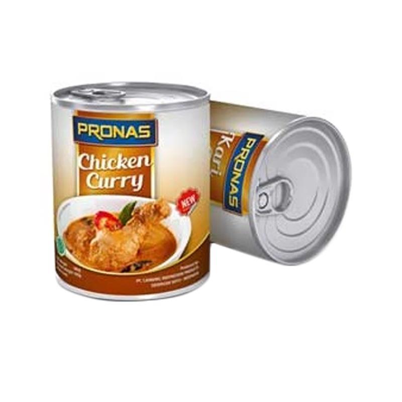 Pronas 0303010006 Chicken Cury Makanan Kaleng [200g]