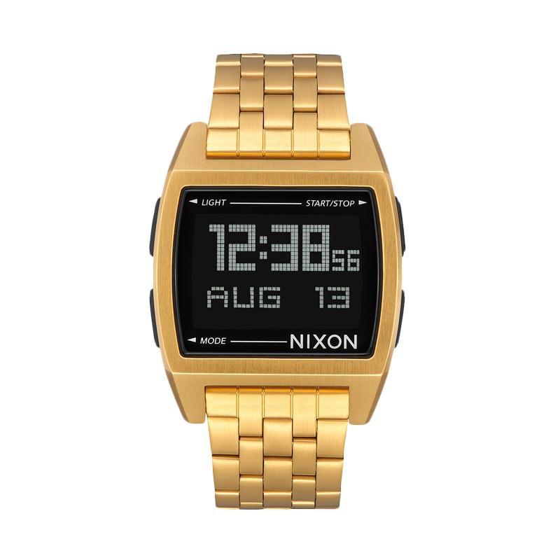 Nixon Base Digital Jam Tangan Pria A1107502 - Gold