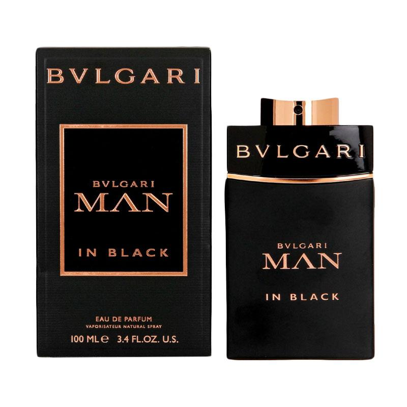 Bvlgari Man In Black Parfum EDP Pria [100 mL] Ori Tester Non Box