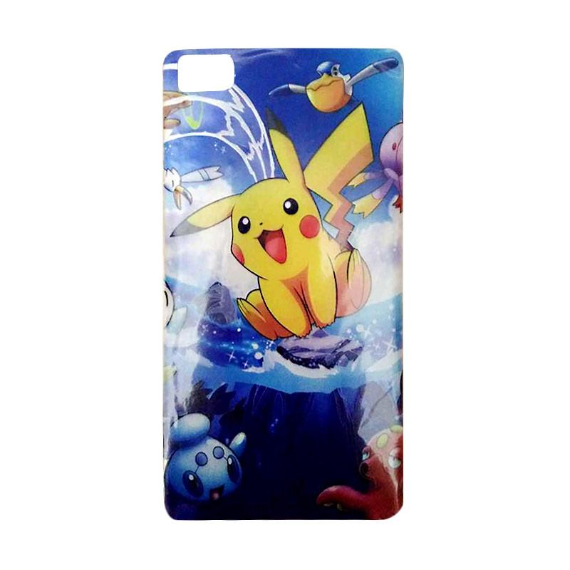 FDT TPU Pokemon 006 Casing for Xiaomi Mi 3