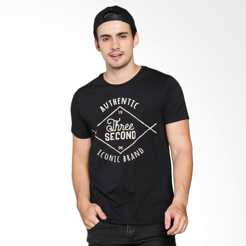 3 Second 150121612 Men T-shirt - Black