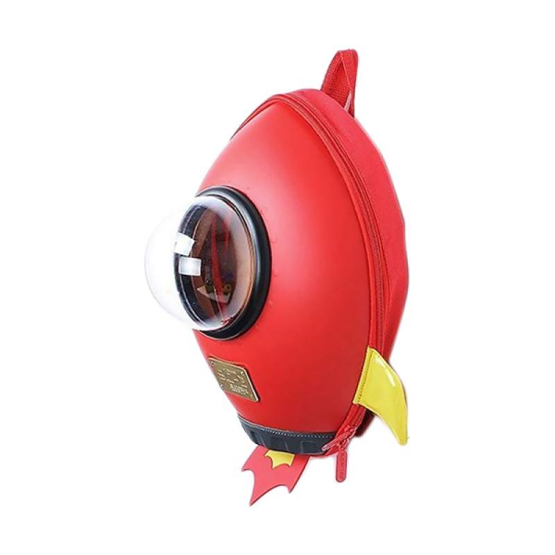 J&J Kids Rocket Backpack - Red