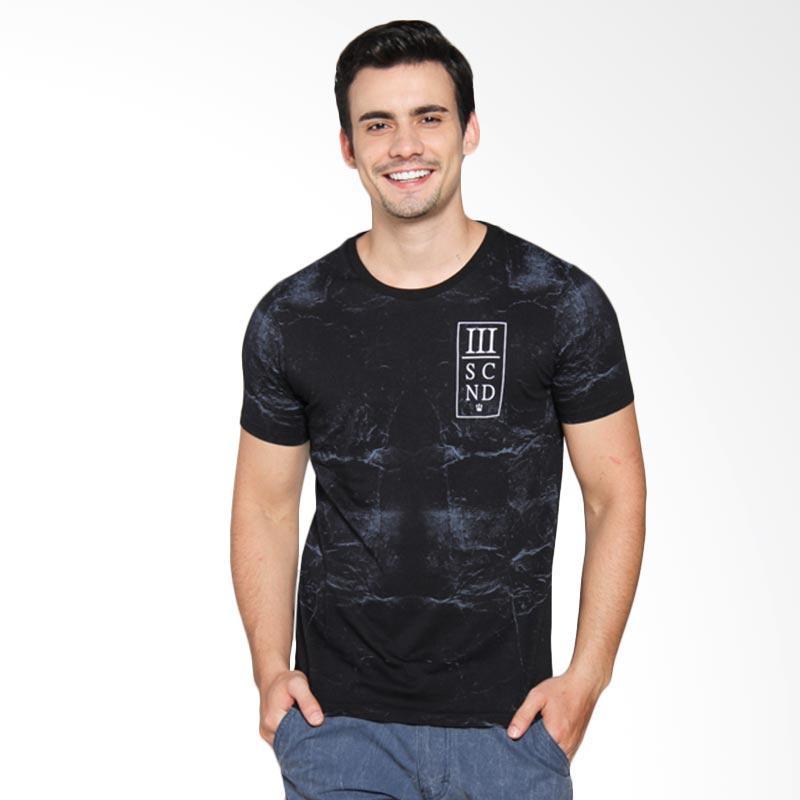 3 Second 144111612 Men T-shirt - Black