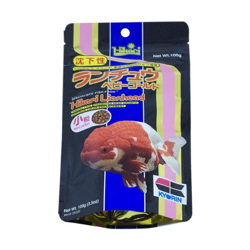 Hikari LionHead Pakan Ikan [100 g]