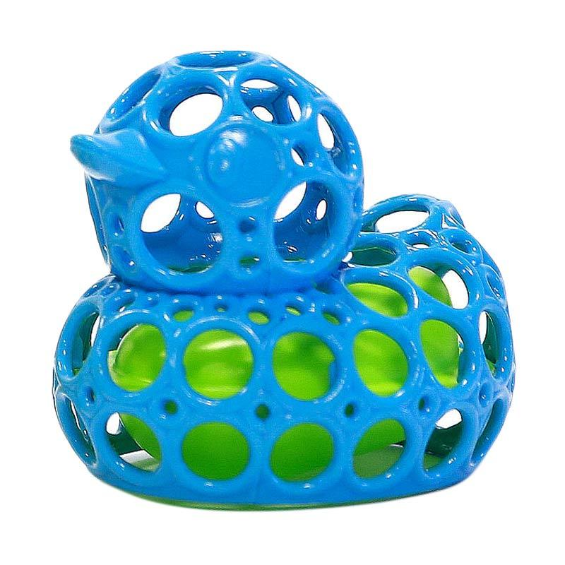 Oball O-Duckie Bath Toy Mainan Anak - Blue