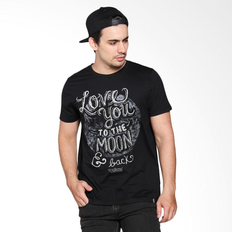 3 Second 146111612 Men T-shirt - Black