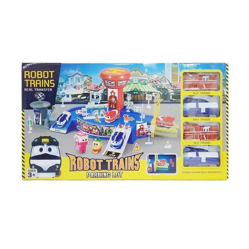 harga JAP 828-14 Robot Trains Parking Lot Mainan Anak Blibli.com