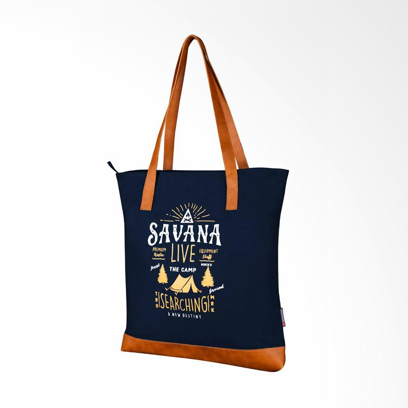 Savana Live Tote Bag - Navy
