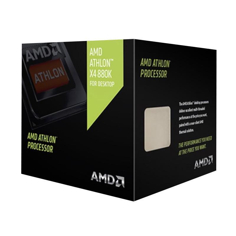 harga AMD X4 880K with 125W Quiet Cooler Prosesor Blibli.com