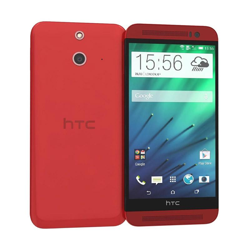 HTC One E8 Smartphone - Red [16 GB/2 GB]