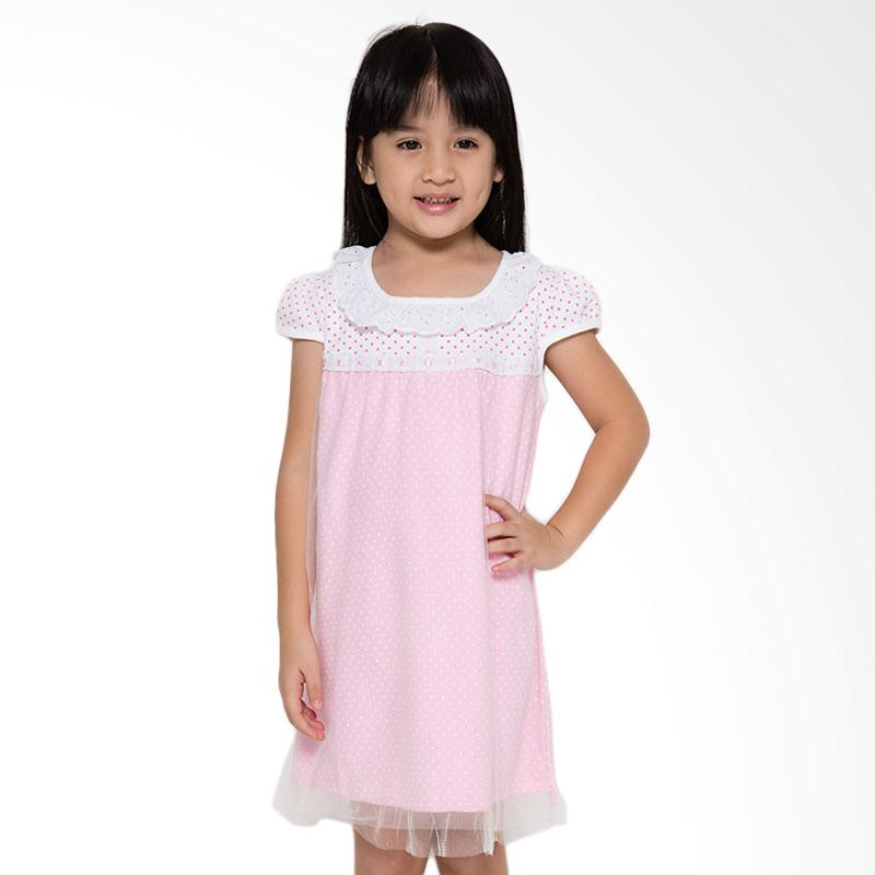 4 You Onde Tile Dress  - Pink