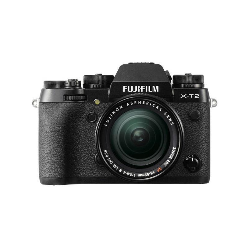 Fuji XT 2 + 18-55 Black + Instax Share SP 2 Silver