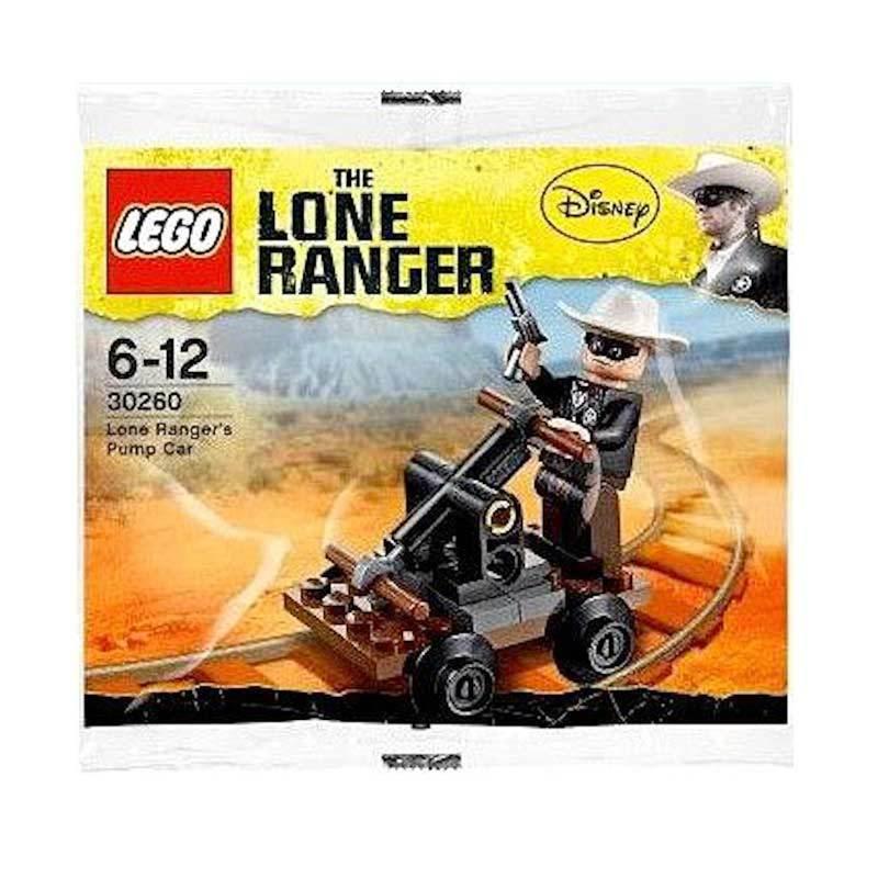 LEGO 30260 - Lone Ranger's Pump Car Mainan Blok & Puzzle