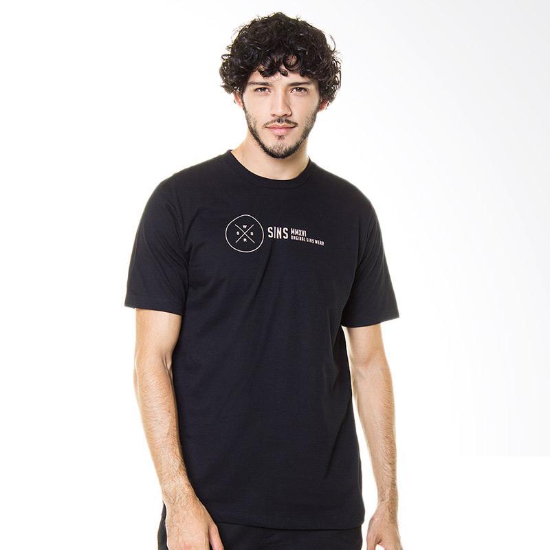 Sins Type Logo Series II - Black Extra diskon 7% setiap hari Extra diskon 5% setiap hari Citibank – lebih hemat 10%