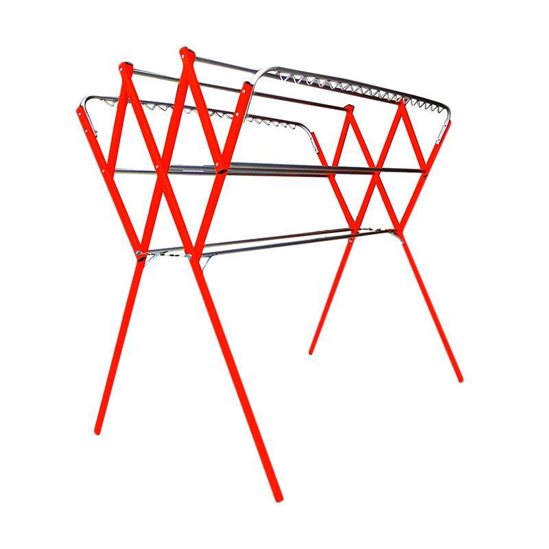 harga Bima Aluminium Jemuran Baju - Red [1.8 M] Blibli.com