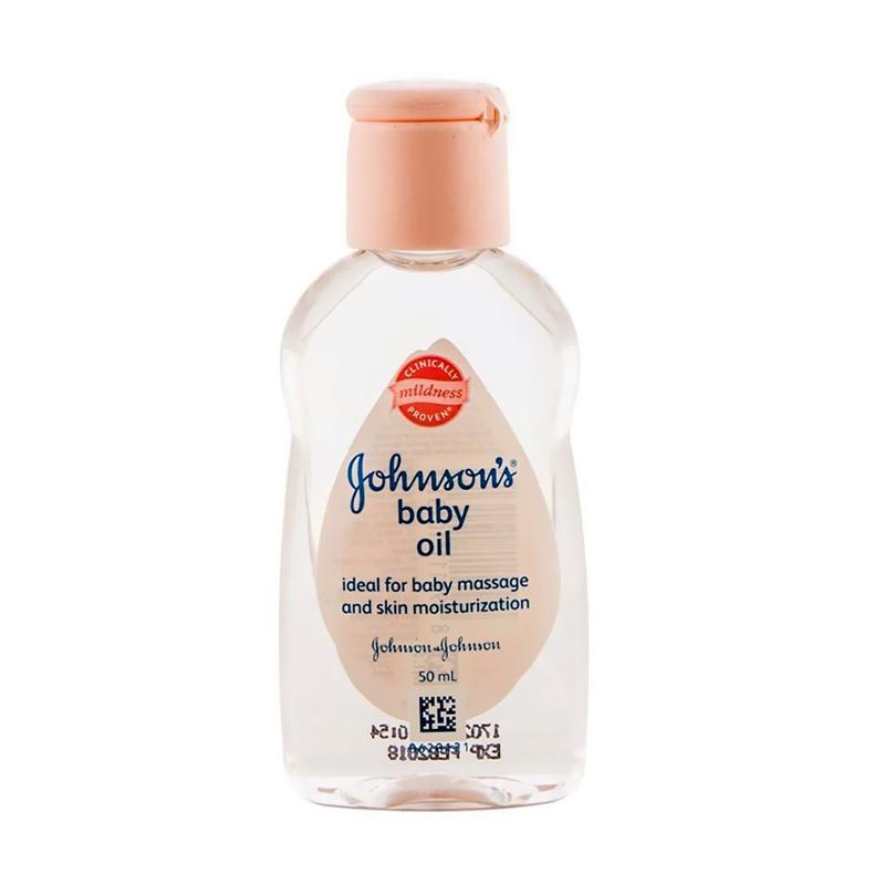 Jual Johnson's Baby Oil [50 mL] Online - Harga & Kualitas Terjamin | Blibli.com