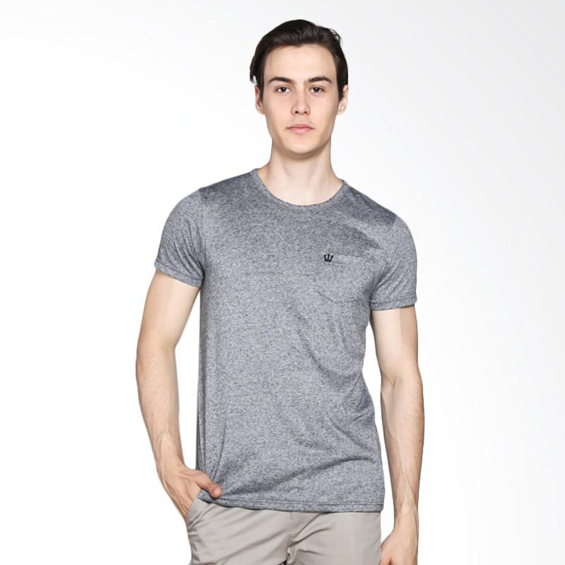 3 Second 112031712 Men T-shirt - Grey