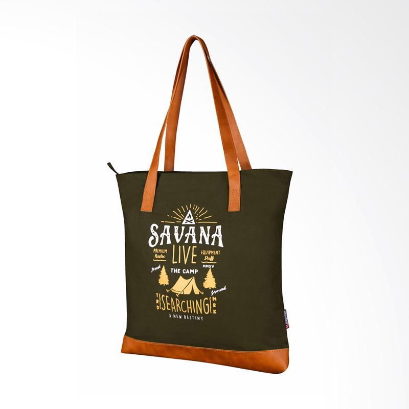 Savana Live Tote Bag - Olive